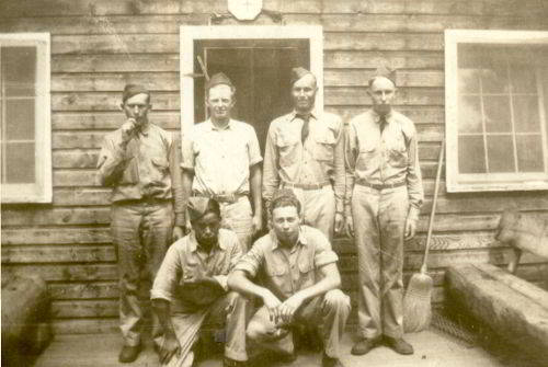 Men at CCC Camp Doran