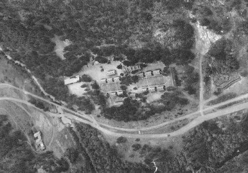 CCC Camp Pactola from the air