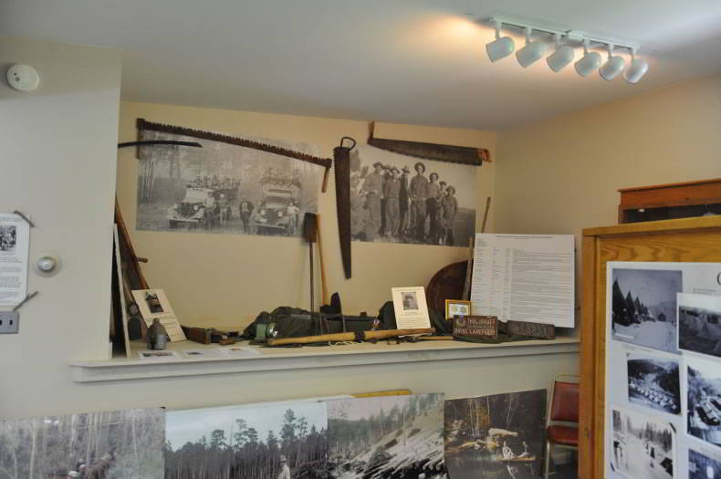 Display at the CCC Museum of South Dakota