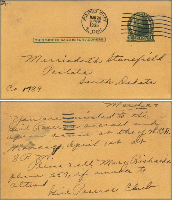 Merriedith Stansfield gets Invitation
