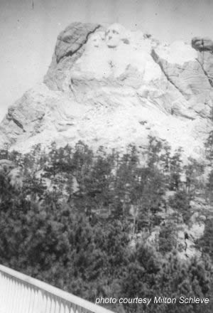 Early Mount Rushmore