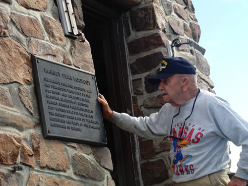 George Roe at Harney Peak Tower