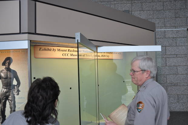 CCC Display at Mount Rushmore