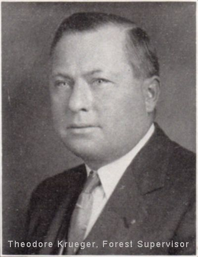 Theodore Krueger, Supervisor Black Hills National Forest