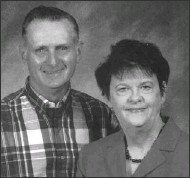 Allen Everett Goens, pictured with his wife, Judy