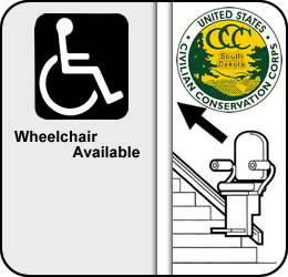 CCC Museum of South Dakota is Wheelchair Accessible
