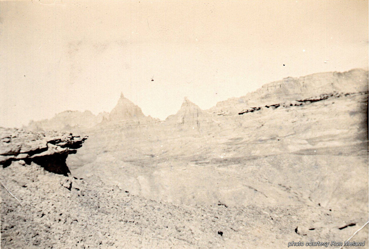 Photo from Clarence Meland - Badlands
