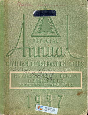 1937 Official Annual Civilian Conservation Corps