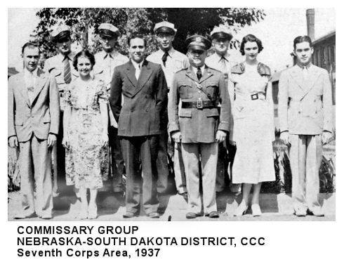 COMMISSARY GROUP NEBRASKA-SOUTH DAKOTA DISTRICT