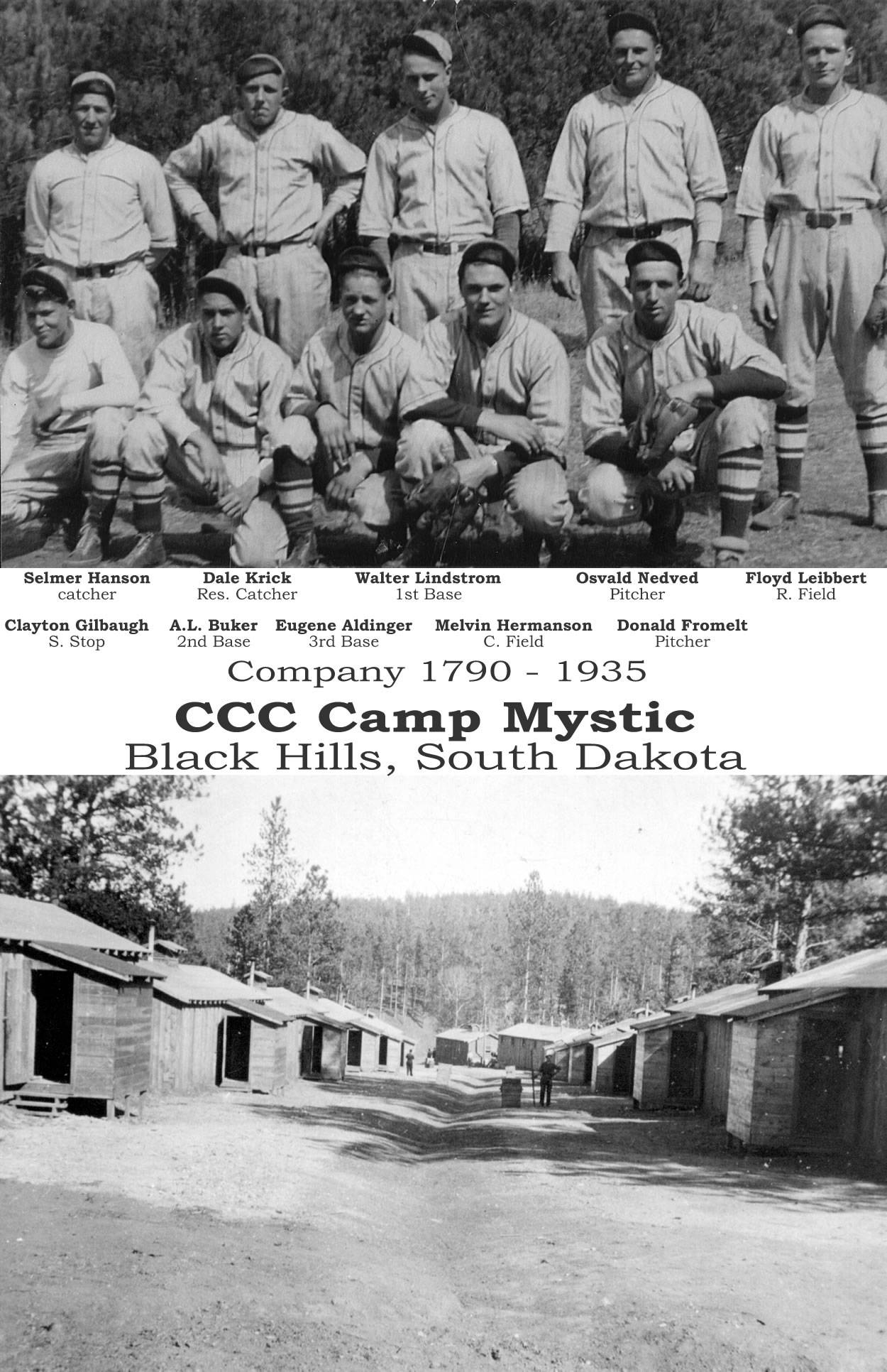 CCC Camp Mystic Baseball Team